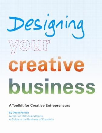 Front cover of Designing Your Creative Business toolkit publication
