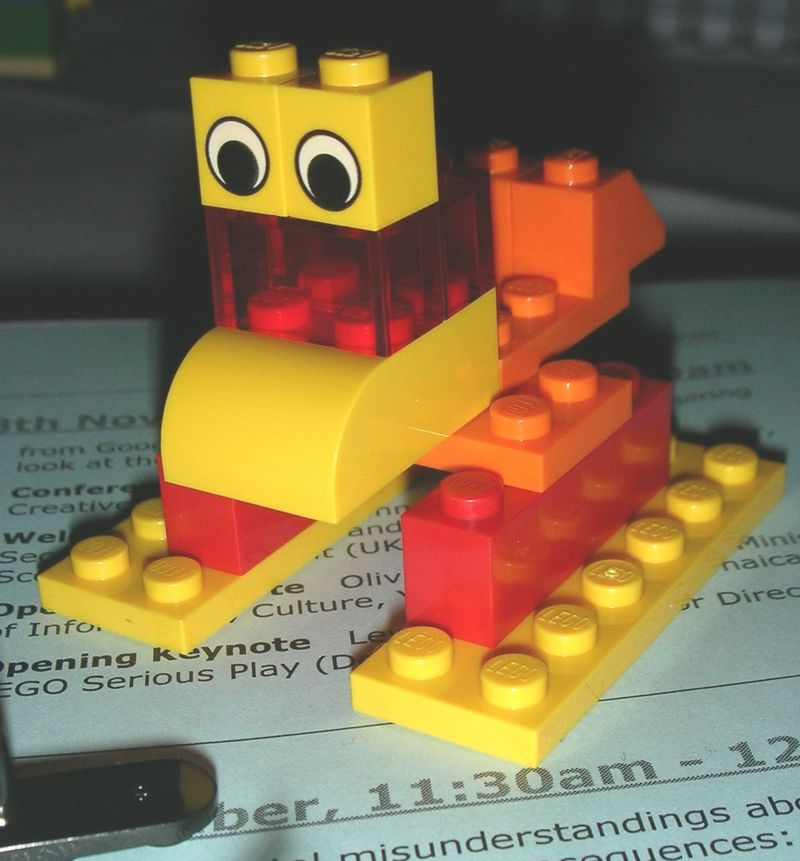 The LEGO Crowd - David Parrish