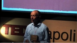 David Parrish speaking about two kinds of creativity at TEDx Napoli