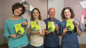 David with the Spanish book publishing team