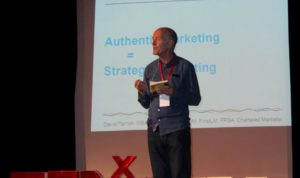 David's TEDx talk at TEDxENCGJ, Morocco