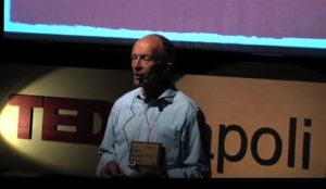 TED speaker David Parrish, expert on creative industry, creative business and the creative economy