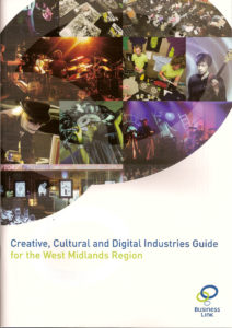 Creative Cultural and Digital Industries Guide. Cover image