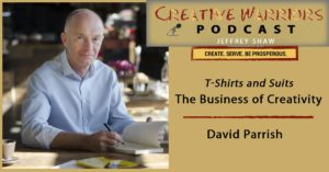 Creative Warrior podcast. David Parrish