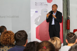 creative industries expert and creative economy speaker David Parrish speaks about the creative industries in Ukraine