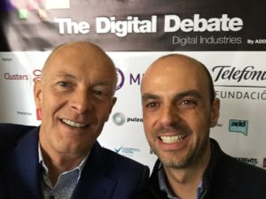 David and Carlos Ramirez. The Digital Debate 2015. Bogotá Colombia