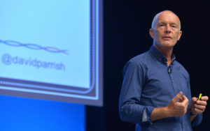 David Parrish. Marketing speaker