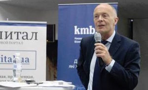 International Business speaker David Parrish in Ukraine