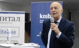 International Business speaker David Parrish in Ukraine
