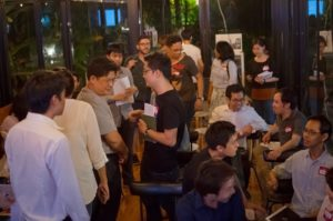 Creative Business Workshop participants at HUBBA Thailand