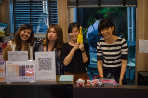 The workshop organising team at HUBBA Thailand