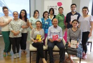 Cultural enterprise workshop group in Baku, Azerbaijan