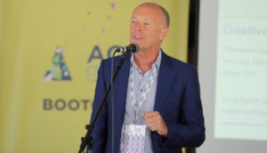 David Parrish keynote speaker at Creative Startup Bootcamp in Serbia