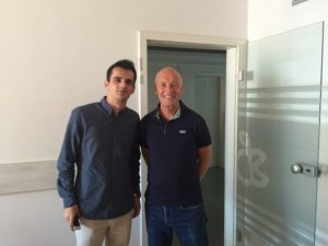 Digital Industries mentor David Parrish at ICK in Kosovo