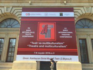 Arts Conference Speech at BITC Azerbaijan