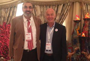 Shaig Safarov and David Parrish at BITC in Baku, Azerbaijan