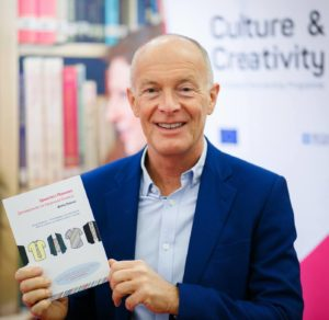 David Parrish at the Minsk Book Fair in Belarus
