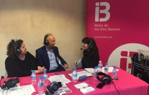 David Parrish interview with Ràdio de les Illes Balears at Think up Culture!