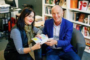 creative business book publication launch