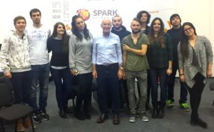 Startup mentor David Parrish at SPARK Business Park in Mostar
