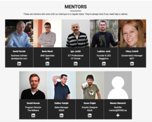 Startup mentors at SPARK Business Park