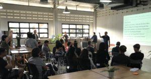 Business Creativity speech in Thailand by David Parrish