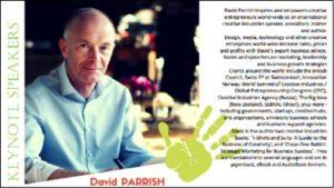 Entrepreneurship Conference Speaker David Parrish