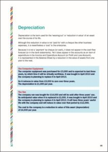 Depreciation. The Overheads of your Creative Business