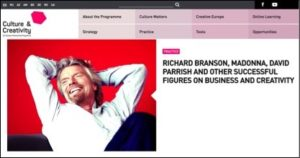 Richard Branson guru David Parrish