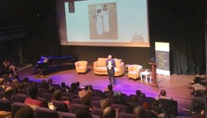 Orange Economy keynote speech by David Parrish in Curacao