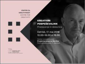 Entrepreneurship for Creatives workshop in Slovenia