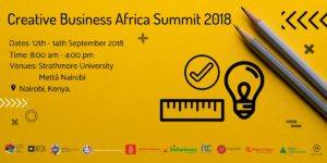 David Parrish at Creative Business Summit Africa