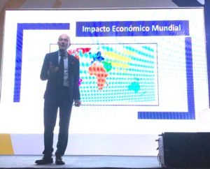 Colombian Orange Economy speaker David Parrish