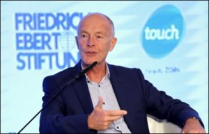 Digital Economy debate speaker David Parrish