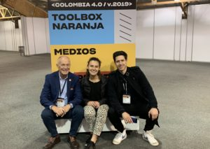 Toolbox Naranja speech at Colombia 4.0