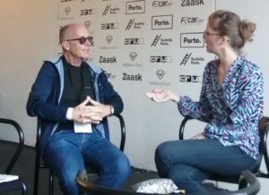 David and Lieza Dessein in conversation