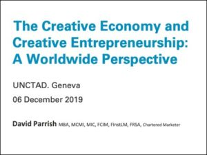 The Creative Economy and Creative Entrepreneurship: A Worldwide Perspective