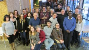 Liverpool Creative Industries training workshop participants at Baltic Creative