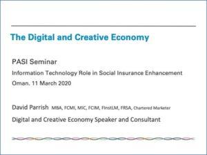 Creative Economy Presentation