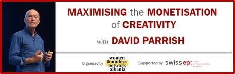 Maximising the Monetisation of Creativity webinar in Albania