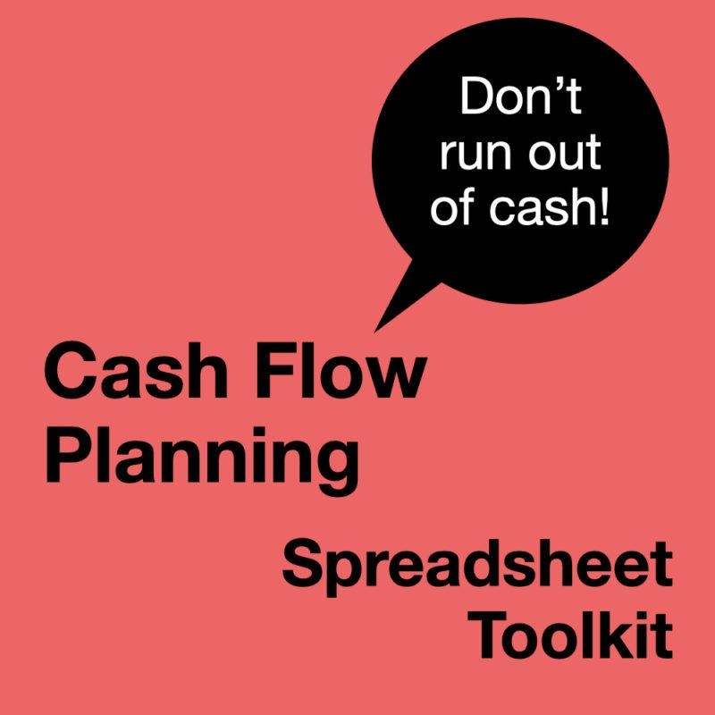 Cash Flow Planning spreadsheet toolkit