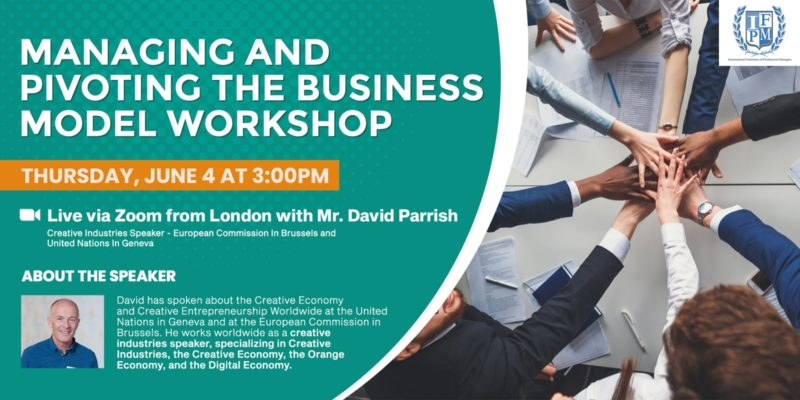 Managing and Pivoting the Business Model - online workshop
