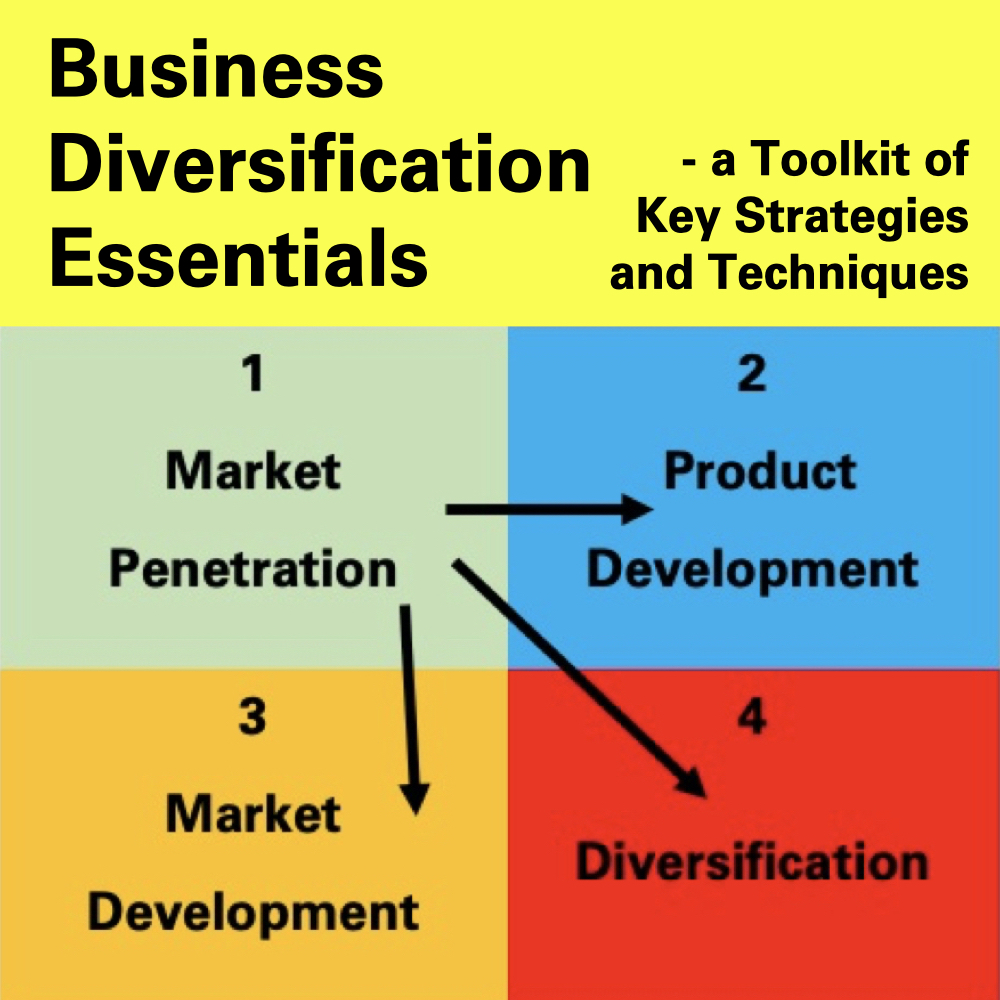 Business Diversification Essentials - a Toolkit of Key Strategies and Techniques