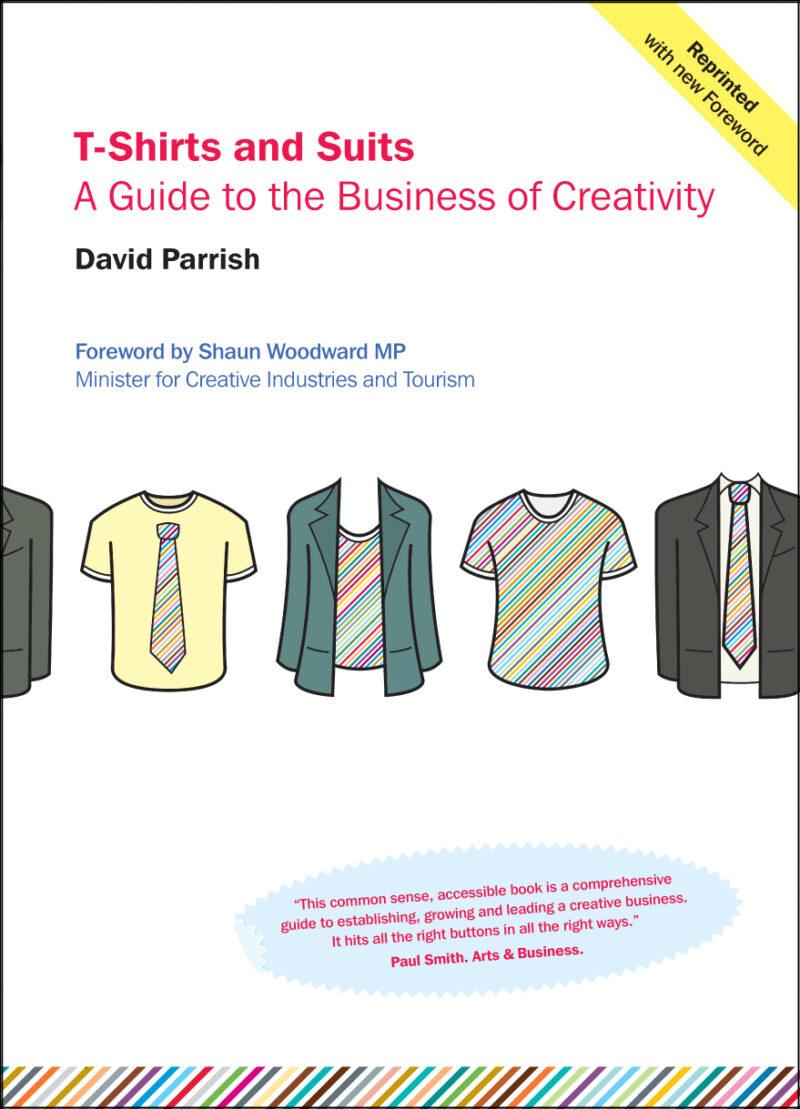 T-Shirts and Suits. Reprint. Book Cover. Hi Res
