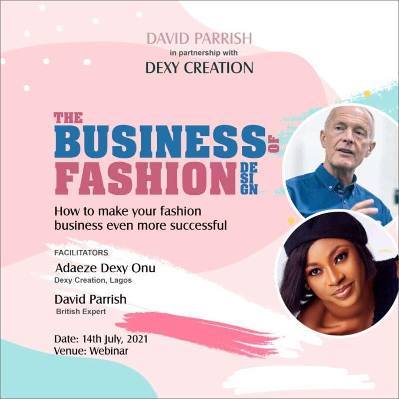 Business of Fashion webinar